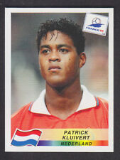 Panini - France 98 World Cup - # 313 Patrick Kluivert - Nederland