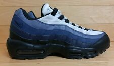 Nike Air Max 95 Essential Size 10 Black Obsidian Navy Running Shoe 749766-028