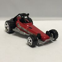 Matchbox Red Silver 2006 Dune Buggy 1:64 Scale Diecast Mattel