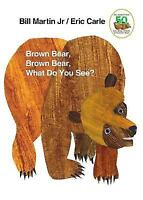 Brown Bear, Brown Bear, What Do You See? Bill Martin Jr Eric Carle Hardcover