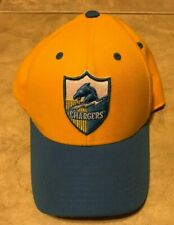 San Diego Chargers NFL Vintage Collection Hat Cap Blue & Yellow Strap Back 1size