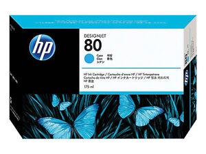 HP C4872a  Hp Nr. 80 CYAN 175 ml for  Designjet 1050 original