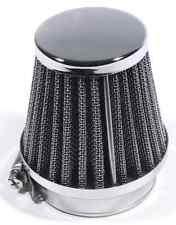 FILTRO ARIA RACE cromo in acciaio inox 52mm K + N/S + S PER HARLEY-DAVIDSON