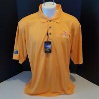 NWT PEBBLE BEACH premier performance mens golf Polo Shirt size 2XL s/s NTTA GOLF
