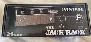 WALL KEY-CHAIN HOLDER JACK RACK II (Fender type) VINTAGE AMP PLUG-IN