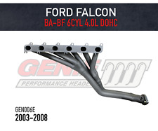 GENIE Headers / Extractors to suit Ford Falcon BA, BF (inc XR6) 4.0L (2003-2008)