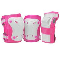 Roller Derby Cruiser Youth Girls Tri-Pac -  Protective Gear - Pink