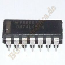1 x DM74164N 8-Bit Serial In//Parallel Out Shift Registers NS DIP-14 1pcs
