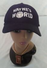 Unisex  Wayne's World Black Vintage Hat Classic One size fits most            I