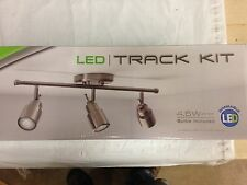 Lithonia Lighting  3 Light LED Track Kit LTFSTCYL MR16GU10 LED 27K 3H BN M4, New
