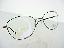 Silhouette Titanium 3505 6050(Silver/Blue) 52 x 17 125 mm Eyeglass Frames
