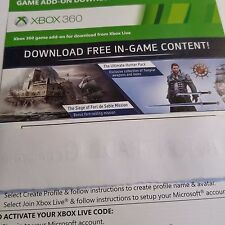 (DLC ADD-ON ONLY) MISSION HUNTER PACK Assassin Creed: Rogue (XBOX 360) #2100