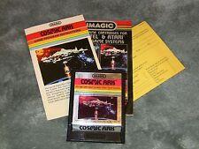 Imagic Cosmic Ark Atari 2600 Video Game with Book