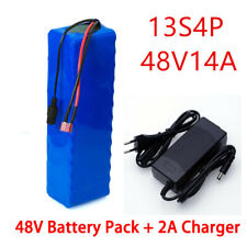 Li-ion Battery 48V 14AH Volt Rechargeable Bicycle 1000W E Bike Electric Li-ion