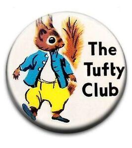Tufty Club Childrens Kids TV Cartoon Movie Retro Nostalgic 80s 70s Cult Tshirt