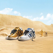 Adidas Originals x Star Wars Top Ten Low Droid R2-D2 C-3PO Shoes Sneakers US8.5