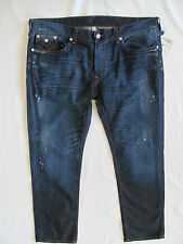 True Religion Skinny Flaps Jeans-Distressing/Oil -Camshaft - Size 46- NWT- $282