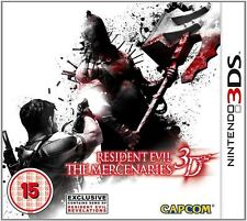 Resident Evil The Mercenaries 3D Nintendo 3DS Video Game