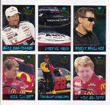 ^1995 Crown Jewels SAPPHIRE PARALLEL #01 Dale Earnhardt Sr. BV$12! VERY SCARCE!