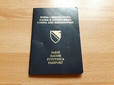 Bosnia and Hezegovina, Collectible passport, Cancelled