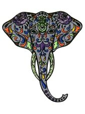 Extreme Largeness Aufnäher Hippie Elefant