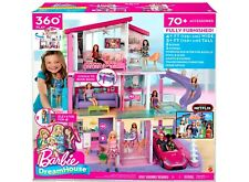 SEALED  Barbie DreamHouse Doll House Playset with 70+ Toys Accessories