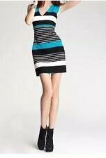 Laundry By Shelli Segal Dress Sz 2 Mint Multi Striped Chic Business Career