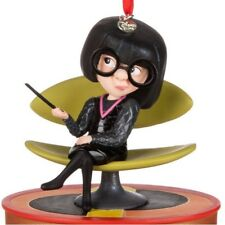 Disney Store 2017 Sketchbook Ornament The Incredibles Talking Edna Mode Nib Nwt