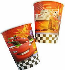 Disney Pixar Cars Party Supplies - Party Cups 8pk
