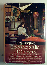 The Wise Encyclopedia of Cookery - 1971 - reprint/HC/VG+ - illustrated!