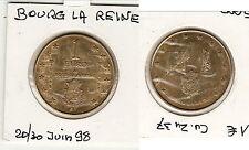 BOURG LA REINE  1 EURO 1998 (EURO avant EURO)