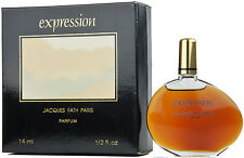 (3071,07eur/100ml) 14ml VINTAGE Jaques Fath-Expression pure profumo EXTRAIT NUOVO