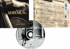 """Karl JENKINS """"Adiemus II Cantata mundi"""" (CD) 1998"""