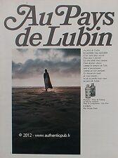 PUBLICITE PARFUM EAU DE TOILETTE LUBIN NUIT DE LONGCHAMP GIN FIZZ 1967 FRENCH AD