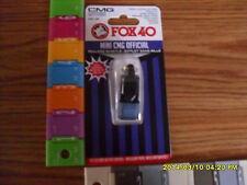 REFEREE WHISTLE:  FOX 40 Mini CMG=Cushion Mouth Grip REFEREE OFFICIALS WHISTLE
