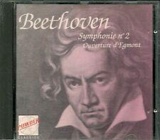CD COMPIL CLASSIQUE--BEETHOVEN--SYMPHONIE N° 2 / OUVERTURE D'EGMONT