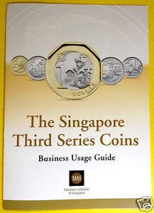 Singapore Third Series 2013 New Coins MAS Business Usage Guide