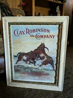 Clay Robinson And Company Framed (20x24) Print