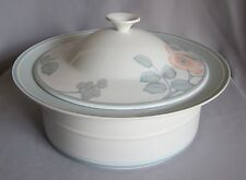 "11"" Round Vegetable Covered Bowl Villeroy & Boch China Rondo Pattern Aria Lid"