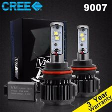 80W 7200LM Cree LED headlight Kit 9007 HB5 Hi/Low Beams White 6000K bulbs 2Pcs