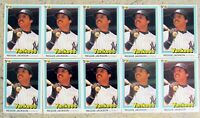 1981 Donruss #228 - Reggie Jackson - HOF New York Yankees - 10ct Card Lot