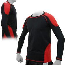 Abbiglimento sportivo da uomo di compressione in poliammide