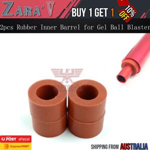 2pcs Rubber Stabilisers for Inner Barrel 9.5mm OD Gen 8 J9 M4A1 Gel Ball Blaster