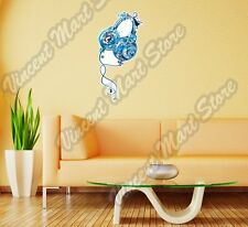 """Headphones Earbuds Music Song Abstract Wall Sticker Room Interior Decor 12""""X25"""""""