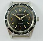 Vintage 1966 M6 Bulova Caravelle 666FT Waterproof Devil Diver Wrist Watch lot.14