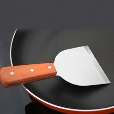 Grilling Spatula Pastry Cake Cream Stainless Steel Metal Turner Flat Pizza Grill