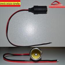 ADAPTADOR CARGADOR USB MECHERO PARA coche mechero hembra repuesto reemplazo