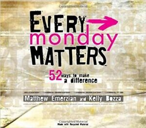 NEW Every Monday Matters: 52 Ways to Make a Difference Paperback & CD ROM – 2008