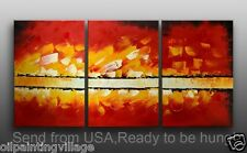 Modern Oil Painting  Framed Canvas Hand Painted - Ready To Be Hung