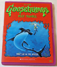 Goosebumps - Deep Trouble DVD, 2005 Don't Go in the Water Scholastic NR pre ownd